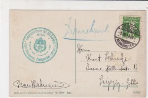 Switzerland 1910 Zurich Cancel Zurich Theater Picture Stamp Postcard Ref 30539