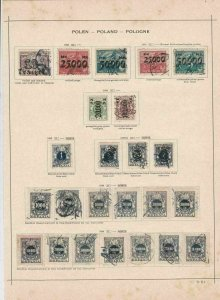 poland 1923  stamps page ref 17513