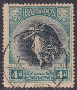 Barbados Sc #146 Used; Mi #116