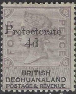 Bechuanaland Protectorate 1888 SC 64 MLH SCV $475.00