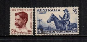 Australia  222 - 223    MNH cat $ 1.10