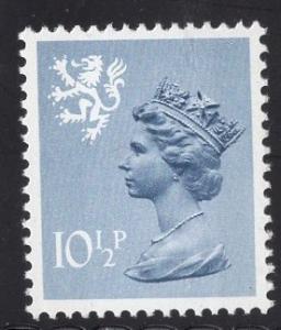 Great Britain Scotland  #SMH14 10 1/2p MNH Q E II   Machin