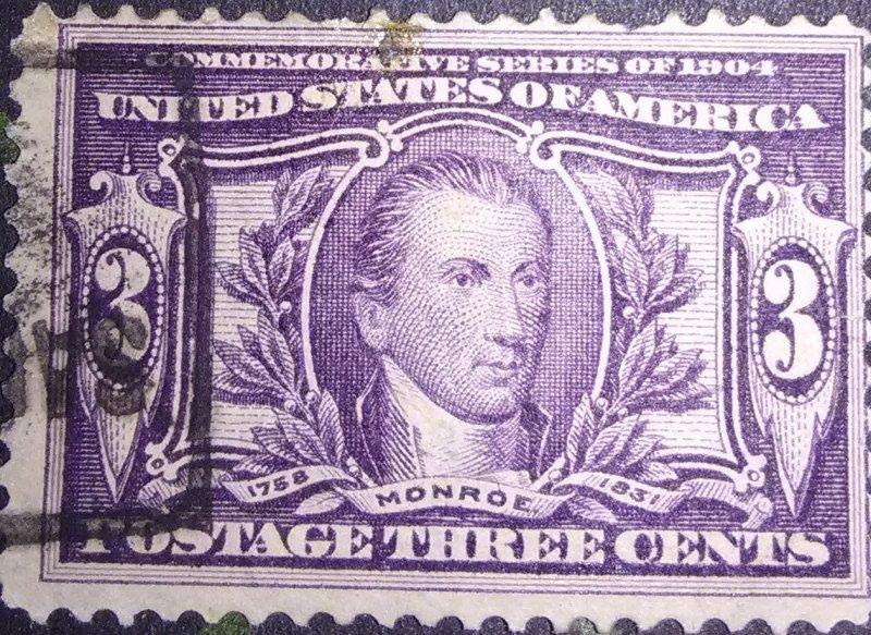 United States #3243c Monroe