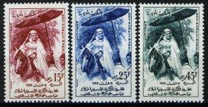 Morocco 1959, 50th Birthday King Mohammed V, VF MNH, Mi 439-41 cat 3,2€