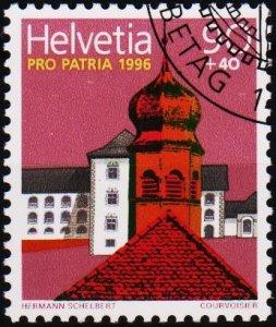 Switzerland. 1996 90c+40c. S.G.1324  Fine Used