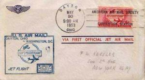 United States, First Flight, Ohio, District of Columbia