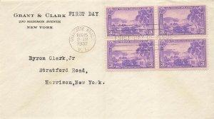 802 3c VIRGIN ISLANDS - Grant & Clark