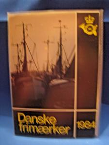 DENMARK STAMP YEAR SETS - 1984, 1985, 1986, 1987   MNH   (gg)