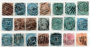 (I.B) India Postal : RMS Postmark Collection