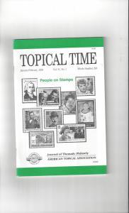 Topical Time Magazine JAN-FEB 2000  Number 299, ATA Journal