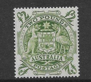 Australia 221  1949  2 pound VF  LH