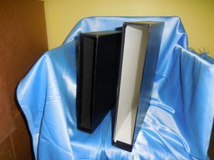 Two slip cases