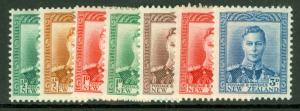 NEW ZEALAND SG603-609, COMPLETE SET, LH MINT. CAT £35.