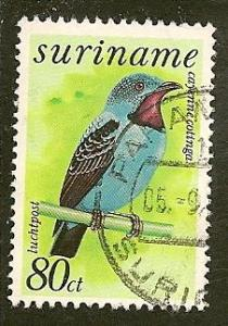 Surinam   Scott    C69   Bird   Used