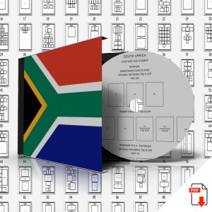 SOUTH AFRICA STAMP ALBUM PAGES 1910-2011 (391 PDF digital pages)