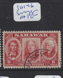 SARAWAK (P1309B)  8C CENT SG 146  SIMANGGANG  VFU