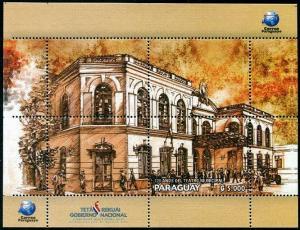 HERRICKSTAMP NEW ISSUES PARAGUAY Municipal Theatre S/S
