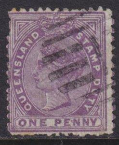 Australia - Queensland 1878-1879 SC AR52 Used