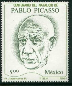 MEXICO 1251 Centenary of the Birth of Pablo Picasso MNH