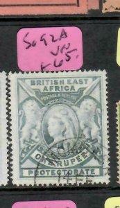 BRITISH EAST AFRICA  (PP1505B)   QV  1R  SG 92A     VFU