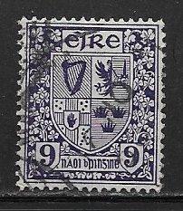 Ireland 114, 6p Coat of Arms of Ireland, used, VF