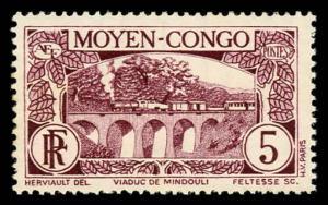 Middle Congo 68 Unused (MH)