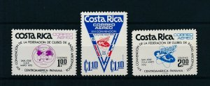 [104363] Costa Rica 1975 Fracap Radio Amateurs  MNH