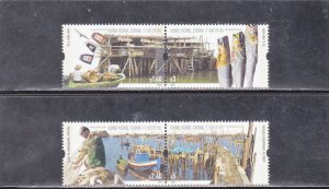 Hong Kong & Portugal Joint Issue MNH Fishing Villages 2005