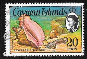 [7078] Cayman Islands # 341 Used