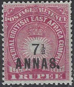 British East Africa 1894 SC 37 MLH SCV $85.00