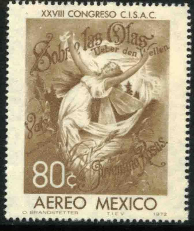 MEXICO C407 Soc of Authors and Composers Intl Congress MINT, NEVER HINGED