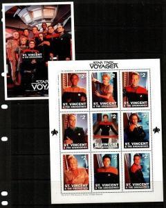 St. Vincent Scott 2377-8 Mint NH (Catalog Value $18.00)