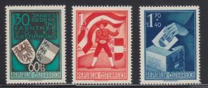 Austria Sc B269-B271 MLH. 1950 Carinthian Plebescite cplt VF