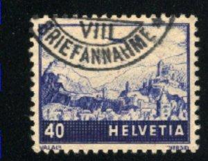 Switzerland C28  used VF 1941 PD