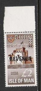 ISLE OF MAN REVENUE MNH H165