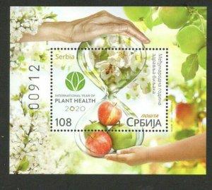 SERBIA-MNH-BLOCK-INTERNATIONAL YEAR OF PLANT HEALTH-2020.