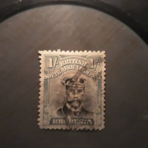 Brit S Afr 130a   1922   1sh used light green