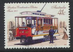 SG 1224  SC# 1158 Used  - Historic Trams