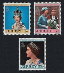 Jersey Silver Jubilee 3v SG#168-170