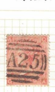 Malta GB Used Abroad SG Z49 Plate 12 Item Two VFU (14drv)
