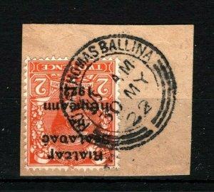IRELAND 1922 Free State Overprints EIRE Superb *Pullathomas Ballina* Mayo MS2265
