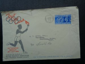 Stamps Covers 1948 Olypic Games Ist Day Cover.