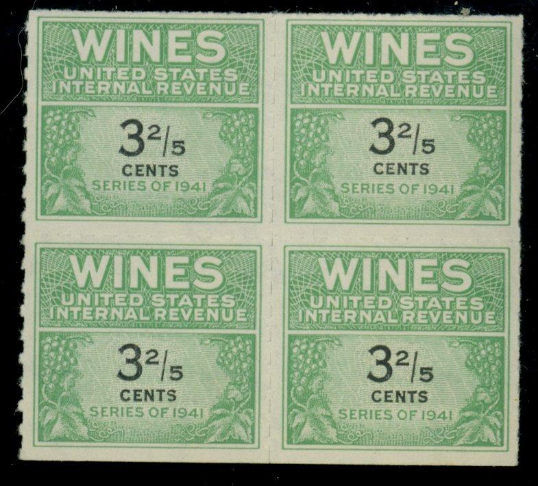 RW183 MINT Block F-VF CAt$80