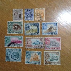 Cyprus  # 168-79  Used
