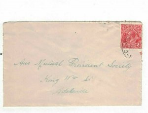 APH1433) Australia 2d Red KGV Die III Small Cover