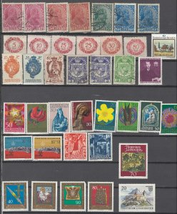 COLLECTION LOT # 2516 LIECHTENST 39 ALL CONDITIONS STAMPS 1917+ CV+$30 CLEARANCE