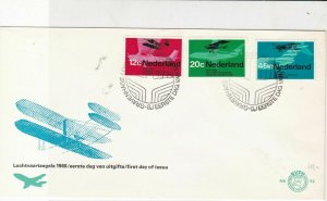 Netherlands 1968 Gravenhage cancel first day of issue  stamps cover ref 21691