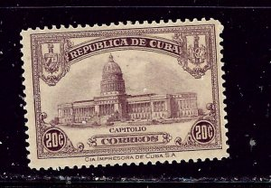 Cuba 298 MH 1929 issue