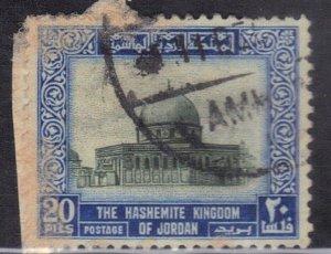 JORDAN  SC# 313 **USED**  20f  1954   SEE SCAN
