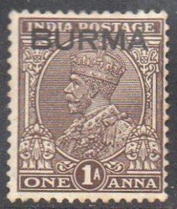 Burma 19371a chocolate MH